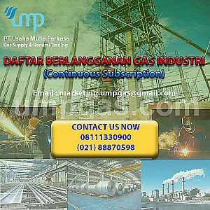 DAFTAR BERLANGGANAN GAS INDUSTRI (Continuous Subscription)